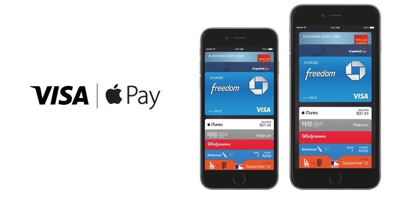 visa apple pay